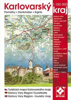 Obrazová mapa a průvodce nakladatelství M´PLAN - Karlovarský kraj