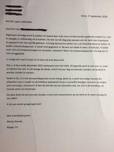 Wat doe je als de telefoon niet wordt opgenomen? Je solliciteert! Office Humour, Cv Template, Templates, Stress, Personalized Items, Funny, Dutch, Twitter, Stencils