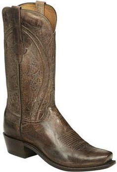 Lucchese Bootmaker Clint 7 Toe Western Boot (Men's) Western Wear, Western Boots, Riding Gear, Cowboy Boots Women, Pull On Boots, Men's Boots, Cowboys, Westerns, Curves