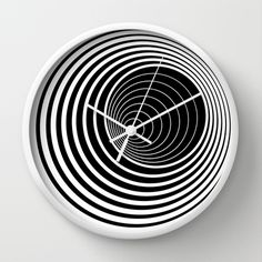 Illusion No1 Wall Clock by Anton Repponen - $30.00