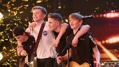 See more from Britain's Got Talent at Teenage rock band Chapter 13 proved that there's NOTHING unlucky about the number Watch the moment Amanda hit her Golden Buzzer and sent the boys rock 'n' rollin' Britain's Got Talent, Believe, Rock Bands, Band Band, Chris Rock, School Of Rock, Version Francaise, British Boys, Buzzer