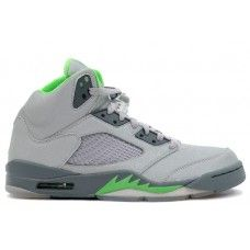 c469d368fde6 Air Jordan 5 Retro Green Beans Silver - Flint Grey Cheap Jordans