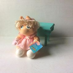 Your place to buy and sell all things handmade Toddler Themes, Theme Bedrooms, Collectible Toys, Muppet Babies, Miss Piggy, Jim Henson, Pink Polka Dots, Antique Toys, Dot Dress