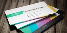 Elegant Business Cards PSD Templates -