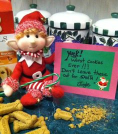 Don't put these cookies out Santa!