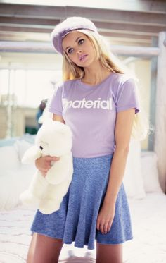 The Wildfox Barbie Dreamhouse Material Tourist Crewneck Tee