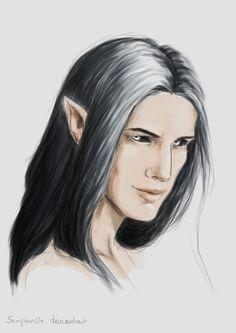 """""""Melkor"""" by Sempern0x on DeviantArt. (fantasy art, JRR Tolkien)"""