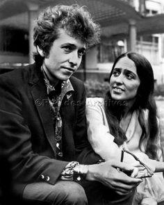 Bob Dylan et Joan Baez