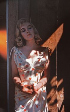 Marilyn on the set of The Misfits by Eve Arnold, 1961.