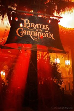 Pirates Of The Caribbean by Joe Barrett Photography, via Flickr