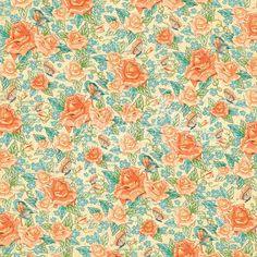 Cafe Parisian - Floral Souffle - 12 x 12 Patterned Paper - Graphic 45