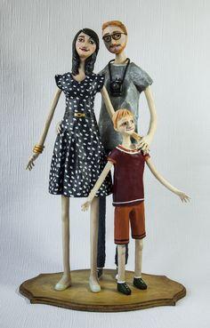 Paper Clay Art, Paper Mache Clay, Paper Mache Sculpture, Soft Sculpture, Clay Dolls, Art Dolls, Paper Train, Arte Linear, African Dolls
