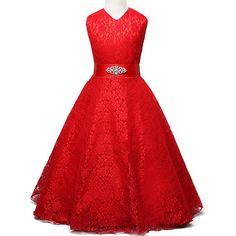 $14.88 (Buy here: https://alitems.com/g/1e8d114494ebda23ff8b16525dc3e8/?i=5&ulp=https%3A%2F%2Fwww.aliexpress.com%2Fitem%2FSummer-2016-Girl-Lace-Dress-Wedding-Elegant-Dress-for-Girls-Kids-Party-Birthday-Clothes-Child-Prom%2F32668724464.html ) Summer 2016 Girl Lace Dress Wedding Elegant Dress for Girls Kids Party Birthday Clothes Child Prom Gowns Teenager Princess Dress for just $14.88