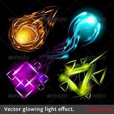 Vector light symbols