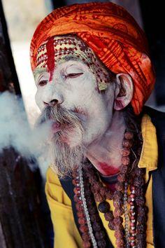 Sadhus (Holy Man) - Kathmandu, Nepal