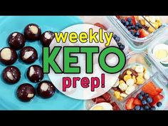 🔥 EASY KETO MEAL PREP! 🤩 LOW CARB MEAL PREP FOR THE WEEK AHEAD 🍽 BREAKFAST LUNCH & DINNER - YouTube