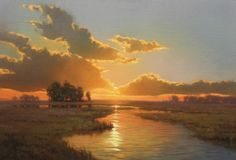 Kevin Courter (painting) | Morning & Evening Lights | Pinterest