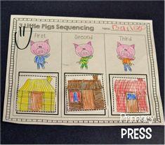 3 Little Pigs activities