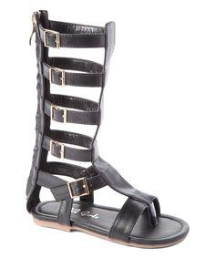 Black Ali Gladiator Sandal