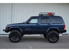 My Dream Car, Dream Cars, Jeep Xj Mods, 2001 Jeep Cherokee, Blue Jeep, Jeep Stuff, Jeep Life, Broncos, Jeeps