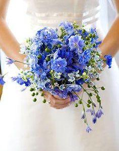 Hochzeits-Nail Designs - Brautsträuße Blau #2068651 - Weddbook de.weddbook.com
