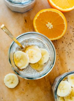 This chia seed pudding recipe tastes like a creamsicle! So healthy and delicious. This chia seed pudding recipe tastes like a creamsicle! So healthy and delicious. Vegetarian Breakfast, Breakfast Recipes, Vegetarian Recipes, Dessert Recipes, Cooking Recipes, Desserts, Breakfast Ideas, Snack Recipes, Second Breakfast