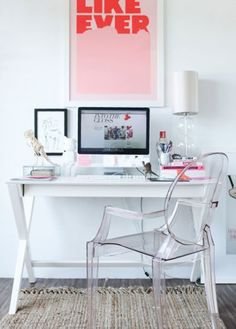 10 Organised Home Office ideas...seriously drooling over some of these!