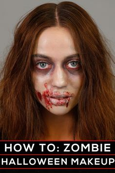 halloween makeup ideas - how to be a scary zombie!