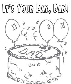 fathers day coloring pages photos pictures