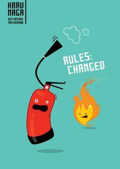 Krav Maga: The fire. Las reglas cambiaron