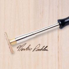 Signature Branding Iron - Torch heated | Rockler Woodworking and Hardware