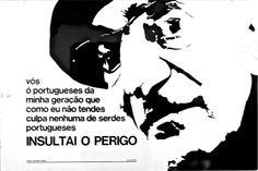 """TRANSLATION : """"YOU Portuguese from my generation that, as I, are not responsible for beeing Portuguese  INSULT THE DANGER""""  Belem, Berardo Collection, Centro Cultural de Belem, Lisbon, Portugal  BIOGRAPHY  Procurando, entre os movimentos de vanguarda europeus, o rumo da sua individualidade artística e literária, digna da «pátria portuguesa do século XX» (tal como a descreve no Ultimatum Futurista às Gerações Portuguesas do Século XX, 1917), Almada escreve A Cena do Ódio (19..."""