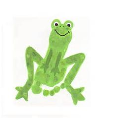 handprint frog - Bing Images