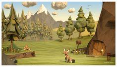 Paper Fox by Jeremy Kool