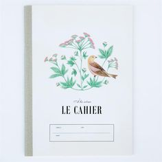 gorgeous deer and bird note books