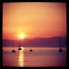 #sunset #sea - @molipier- #webstagram