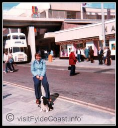 Blackpool Town Centre - the former M&S and C&A. Our Old Blackpool Photos - archives from Visit Fylde Coast Blackpool Promenade, Blackpool Beach, Blackpool Pleasure Beach, Manchester Buses, Balloon Flights, Big Photo, Great Hotel, Photo Archive, Vintage Photos