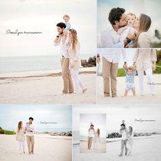 Family portrait. Beach family photography. Outdoor family photos. Beach photography. Children photography. Baby boy portrait. Miami photographer. South Florida photographer. InesLynn Photography.