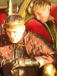 That face... and Uther looks so disappointed...