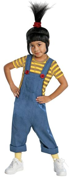 Despicable Me - Deluxe Agnes Toddler / Child Costume from BirthdayExpress.com