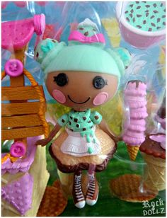 Mini Lalaloopsy Waffle Cone Scoops Serves Ice Cream Boxed | Flickr - Photo Sharing!