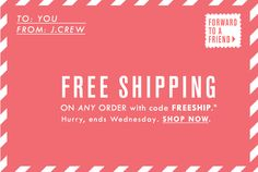 free shipping day email - Google Search