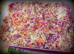 Crunchy Oriental Coleslaw Salad Recipe | Just A Pinch Recipes