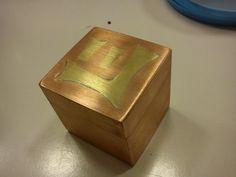 Copper, box, marquerty