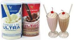 Ultra shake - Delicious  Milkshakes - Strawberry and Chocolate.