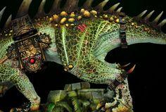 Dread Saurian by Karol Rudyk · Putty&Paint