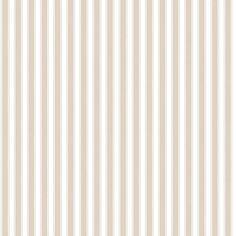 Noordwand Streepjesbehang in wit/camelbeige Landelijk wonen Riviera Maison Streep Strepen Long Isand Nautic Marine