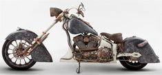 Custom built choppers are expensive, sometimes ridiculously expensive, but the Medusa from TT Custom Choppers takes it to a new level. You might be staring at the motorcycle wondering why a motorcycle that looks so rough, unpolished, almost rusty, would be worth so much money. Look closer.