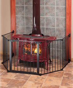 Look what I found on #zulily! Black Auto-Close HearthGate by KidCo #zulilyfinds