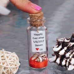 personalized red wedding favors sand and seashells favors message in a bottle favor wedding shower gifts bridal favors beach in a bottle - August 17 2019 at Candy Wedding Favors, Wedding Shower Favors, Wedding Gifts For Guests, Rustic Wedding Favors, Beach Wedding Favors, Unique Wedding Favors, Destination Wedding, Wedding Planning, Wedding Sparklers